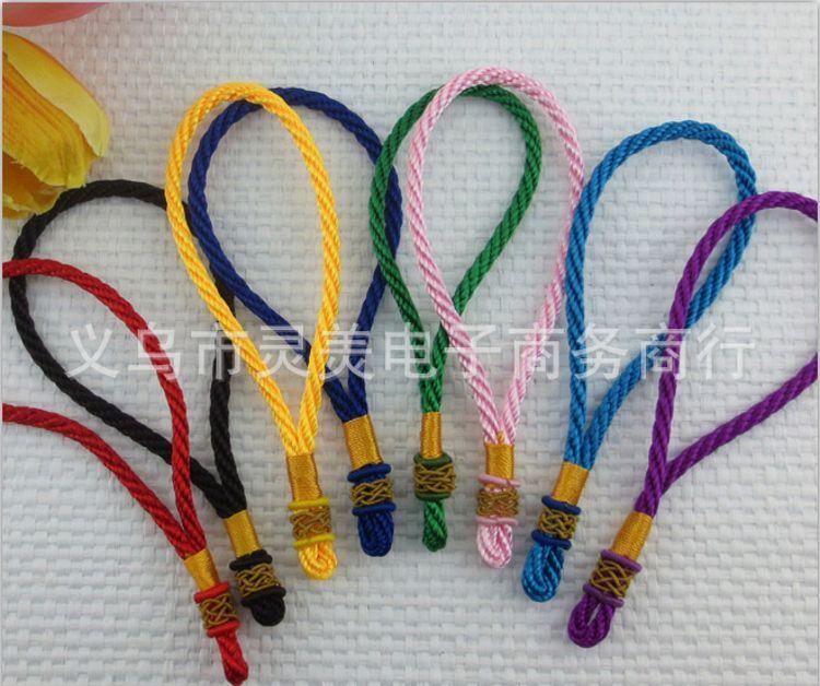 热销爆款 中国结菠萝扣吊绳 网扣吊头 车挂配件 佛教用品挂绳