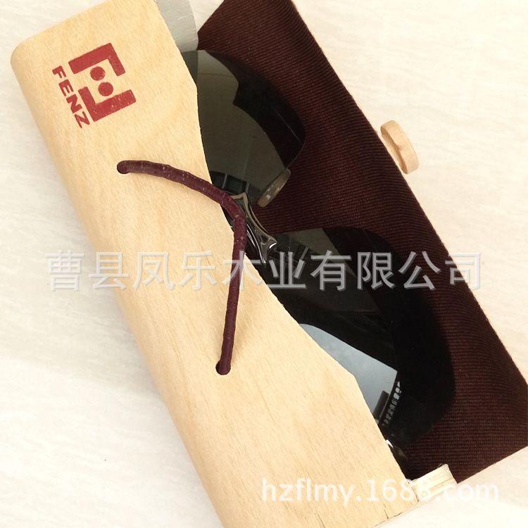 厂家直销轻便手工眼镜包装盒 桦木树皮盒 软化木皮盒 竹木眼镜包