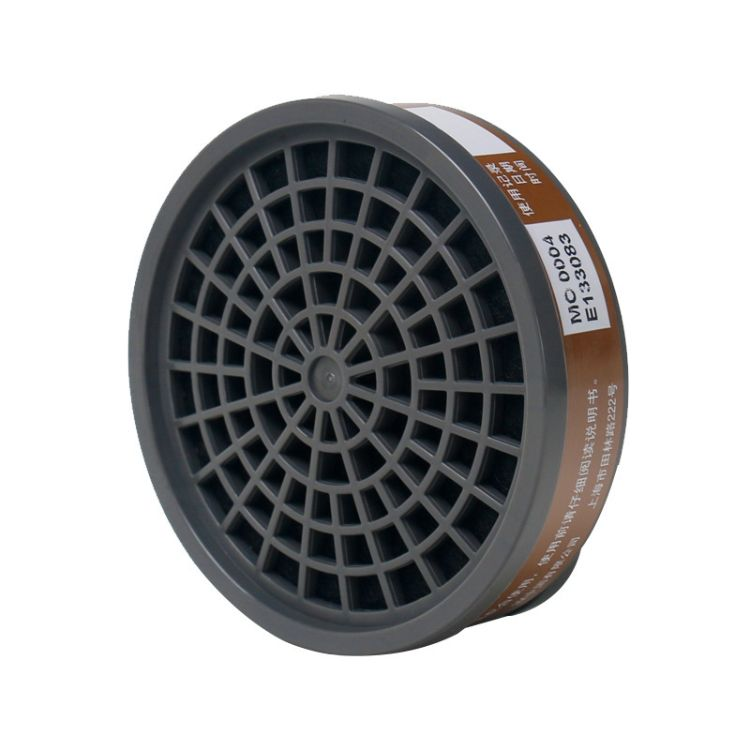 3M 3301CN 有机蒸气过滤盒 自吸过滤式防毒面具硅胶滤毒盒