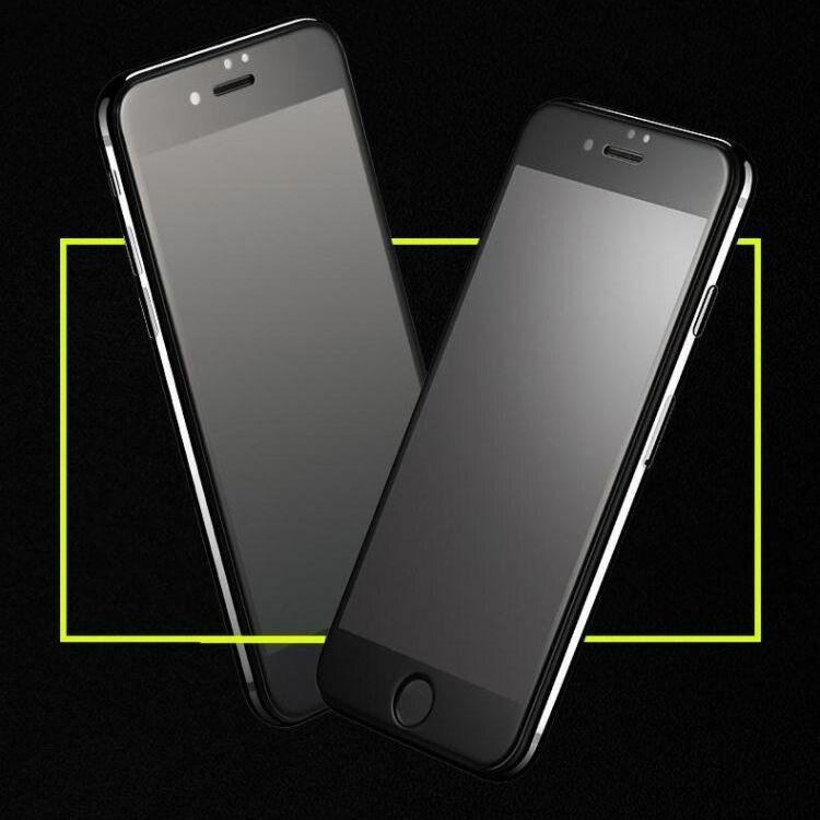 iPhone防窥钢化膜防指纹全屏高透手机钢化玻璃屏
