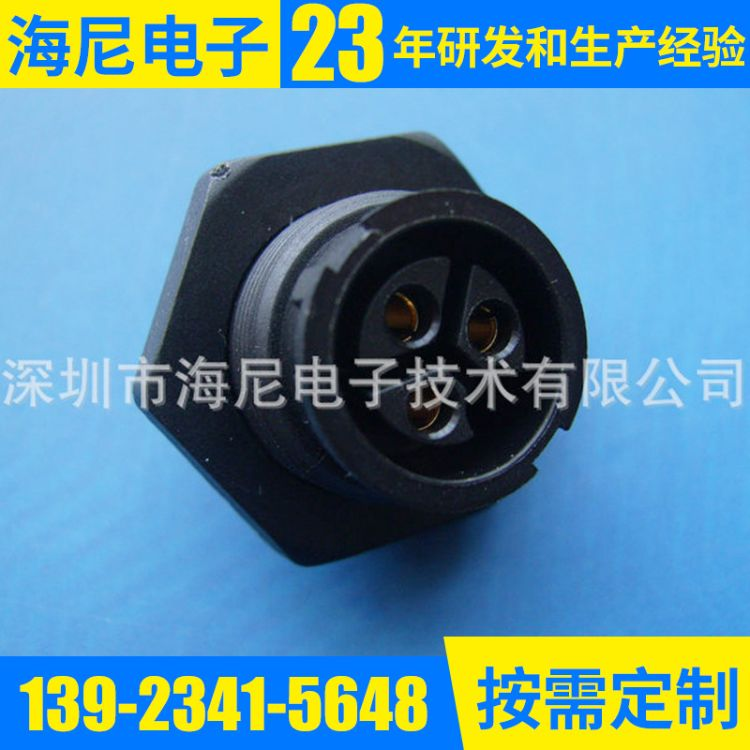 HiNI 海尼 圆形连接器厂家批发供应D-SUB(VGA)圆形连接器器加工