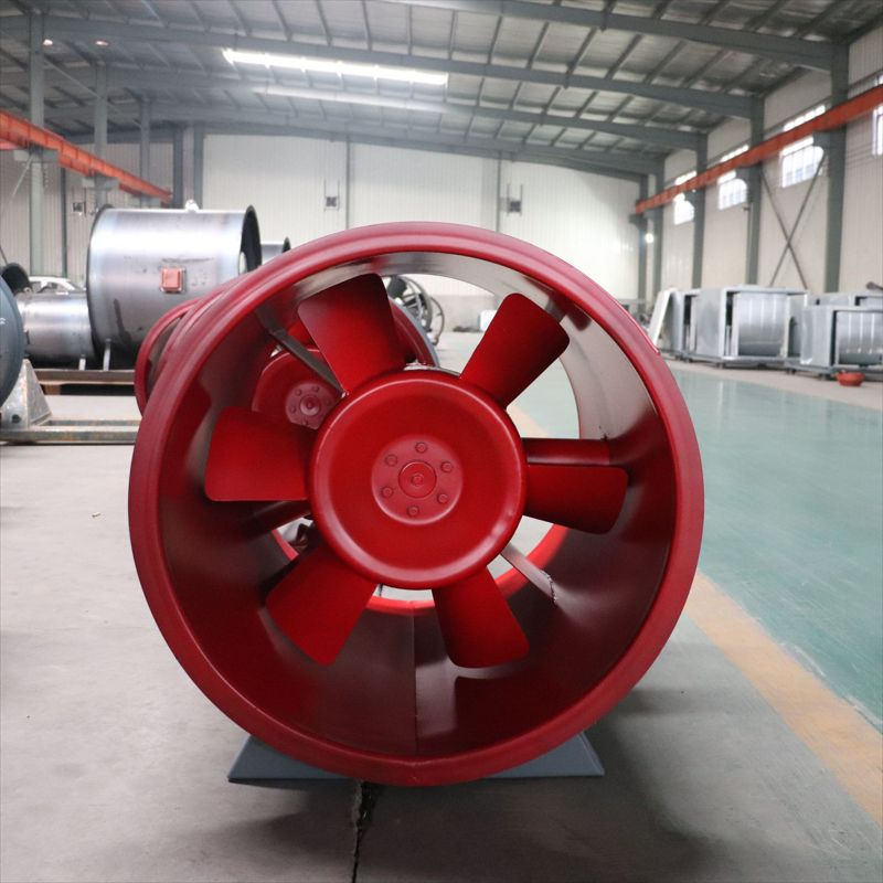 源头工厂定制3C认证排烟轴流风机 单双速消防高温防爆排烟风机