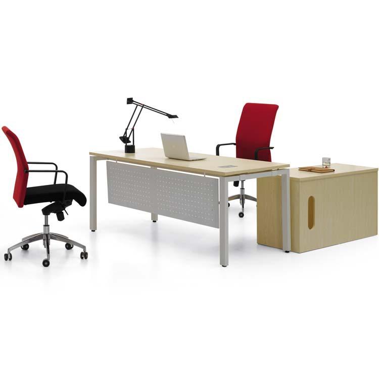 厂家直销现代简约时尚大班桌老板桌板式办公桌经理主管班台电脑桌