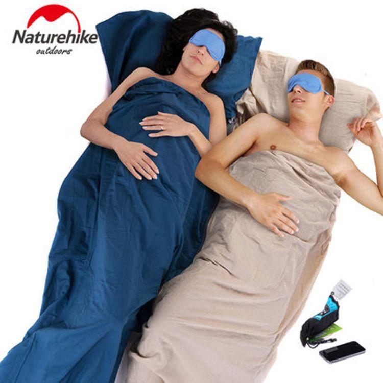 Naturehike-NH 全棉 户外 超小睡袋内胆 旅行纯棉睡袋 干净舒适