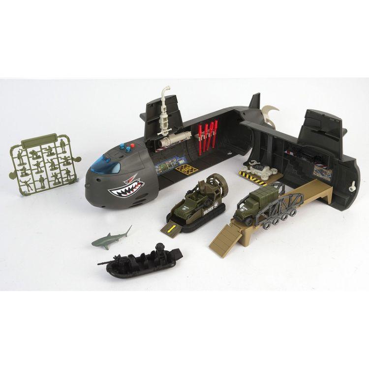 Chap Mei集多美轰天勇将潜水艇模型儿童DIY益智声光玩具524052