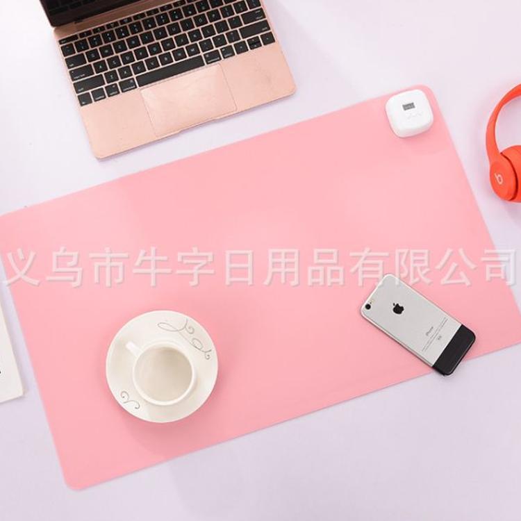 纯色暖手桌垫发热鼠标垫电热桌垫暖桌加热桌垫发热桌垫 厂家批发