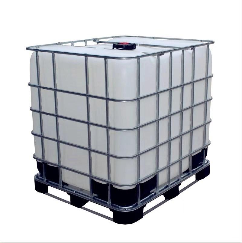 大量供应批发九成新塑料吨桶 带铁架四方柴油吨罐 耐酸碱化工桶