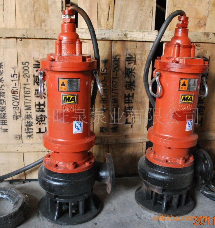 旺泉牌BQW40-16-4矿用隔爆型潜污水电泵