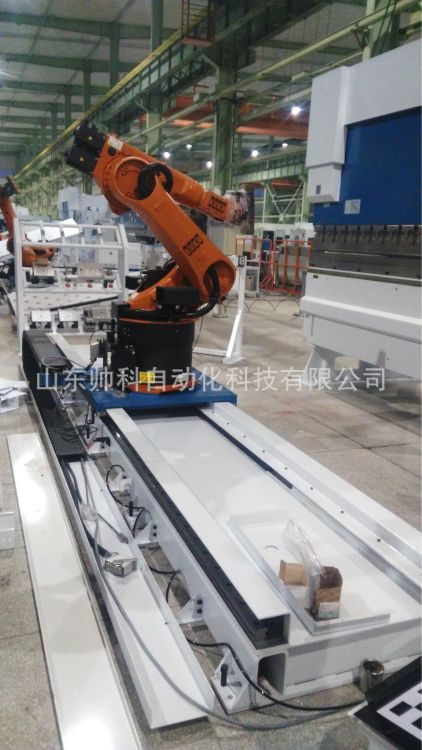 厂家供应移动行走轴地轨导轨扬州发那科库卡ABB安川OTC松下机器人