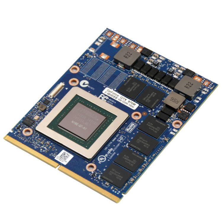 英伟达 Geforce GTX970 6GB GDDR5 192bits游戏本笔记本独立显卡