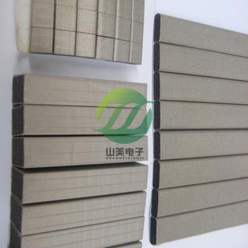 厂家直销全方位导电海棉 屏蔽材料 导电布导电棉 导电泡棉