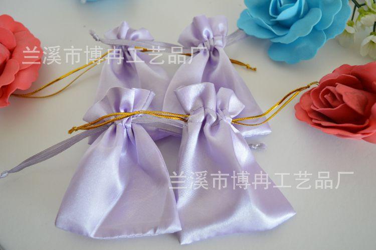 厂家加工定做 饰品色丁袋  规格自定 可印刷LOGO