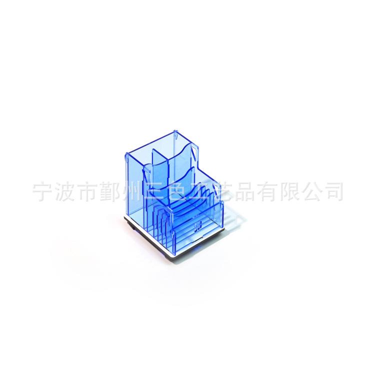 亚克力名片座 创意组装成型名片盒 有机玻璃名片盒厂家定做批发
