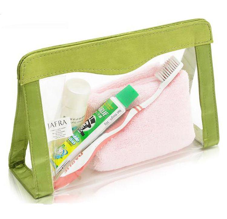 厂家生产批发洗漱包化妆包 网红创意韩国PVC透明防水女士化妆包 洗漱收纳包