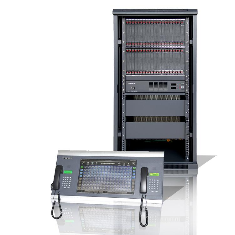 申瓯数字程控调度机SOC8000程控调度机512线多媒体调度台