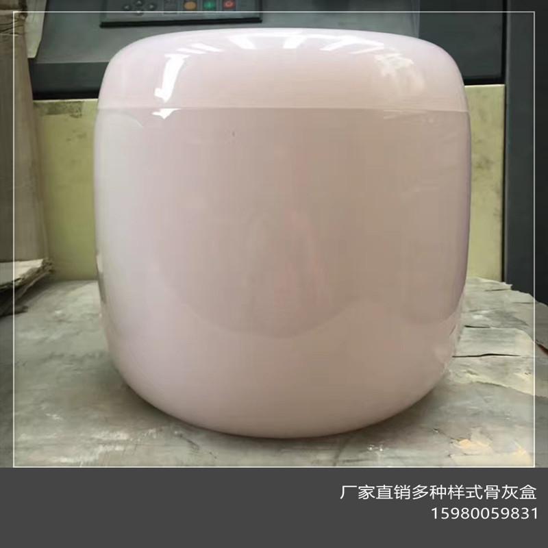 厂家直销 玉石白玉天然整体雕刻蓝田玉骨灰盒水晶 耐腐骨灰盒