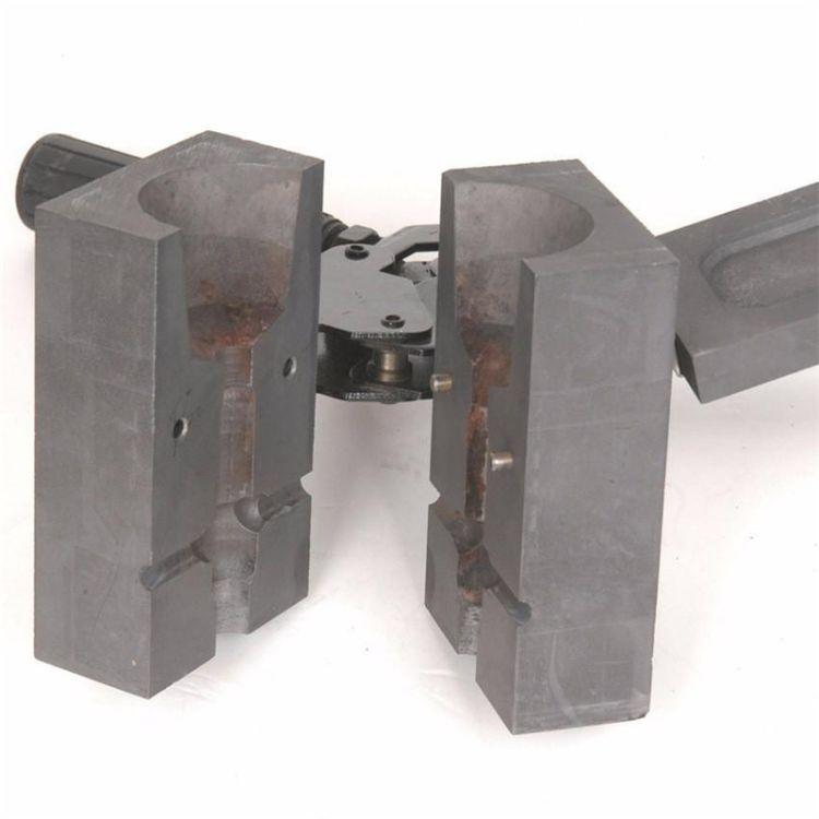 华野厂家直销模夹模具 放热焊接模具模夹 放热磨具 可定制