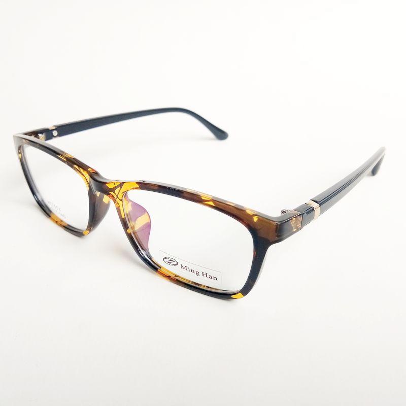 TR90眼镜框 豹纹色眼镜架 男女款 可配近视眼镜架 7004