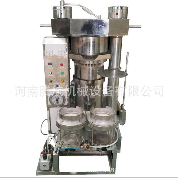 多功能液压芝麻香油机 韩式液压芝麻 杏仁 松籽榨油机
