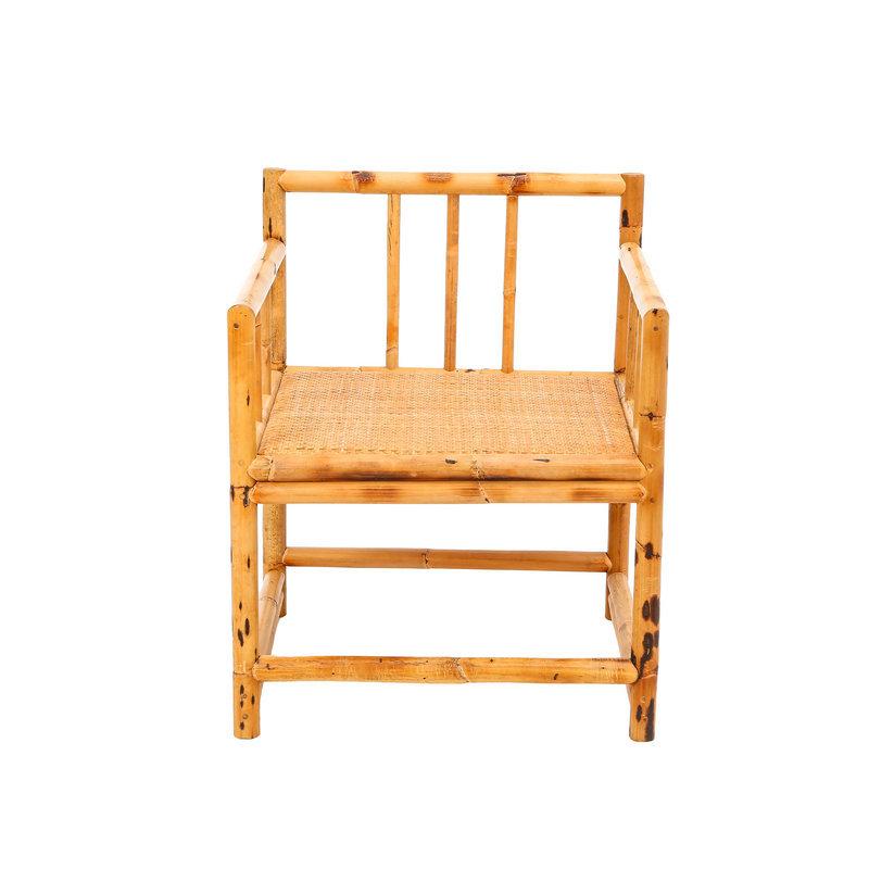 昌盛藤器 茶台方背椅厂家供应 木制扶手餐椅 藤餐椅批发 新中式方桌休闲梳背椅