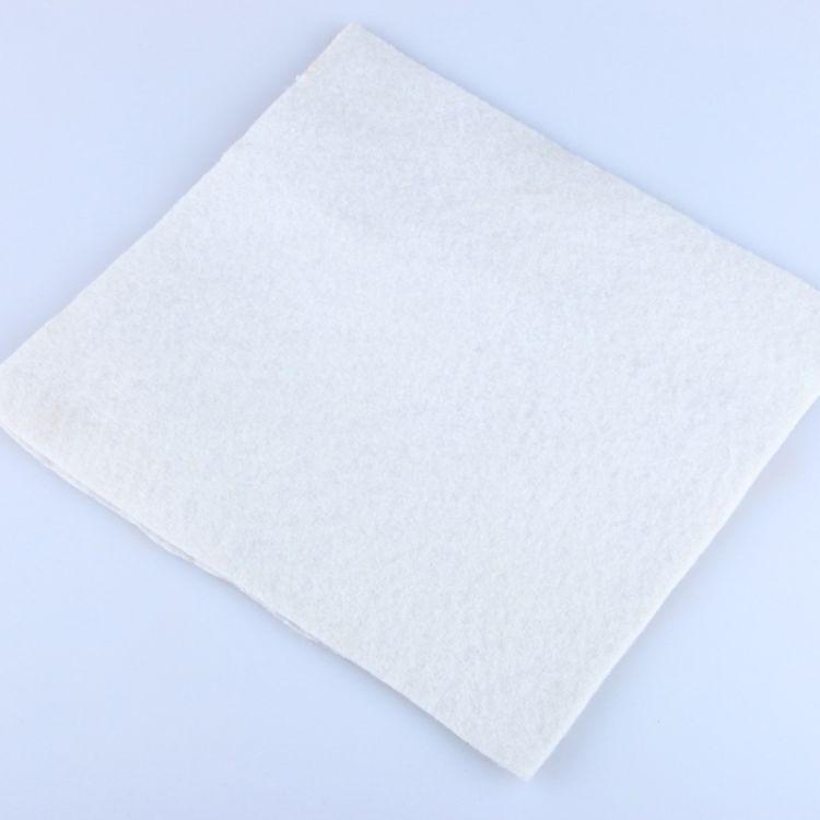 金达 白色土工布 耐腐蚀抗穿刺土工布