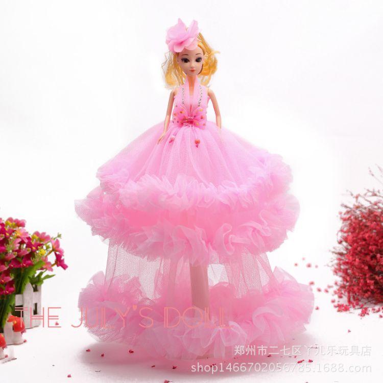 娃娃生日礼物女孩玩具婚纱娃娃活动小礼品