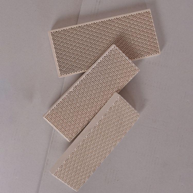 远红外陶瓷燃烧板 多孔蜂窝陶瓷片 陶瓷燃烧板 高频绝缘高质量 耐磨耐高温