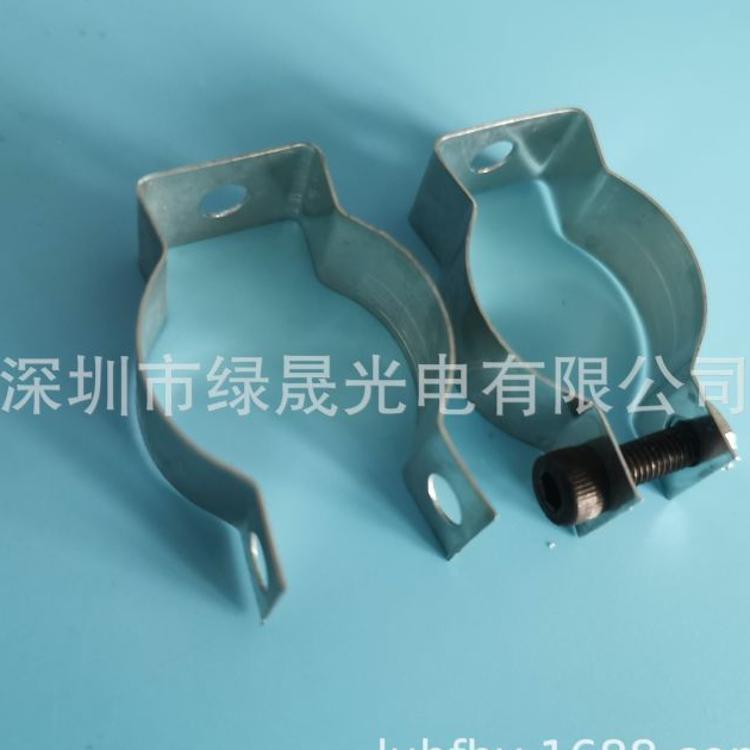 工厂直销 T8锰钢带螺丝卡扣 T10灯管夹螺丝加固