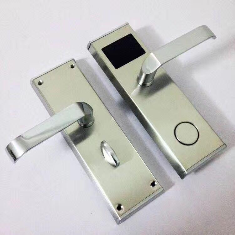 廠家特價銷售 方款酒店賓館智能刷卡鎖 電子感應鎖 酒店磁卡鎖