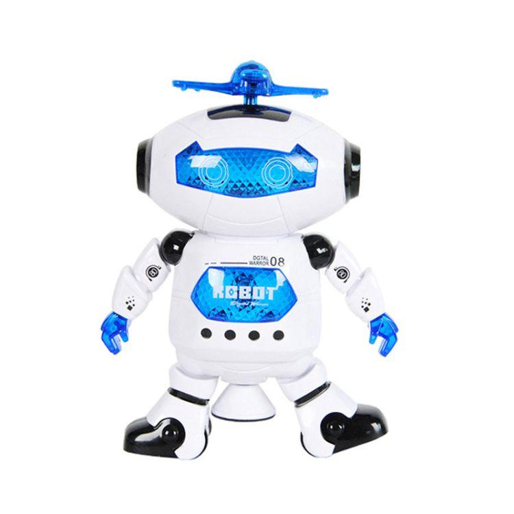 电动炫舞机器人批发价格 360度旋转红外线劲舞太空人批发零售