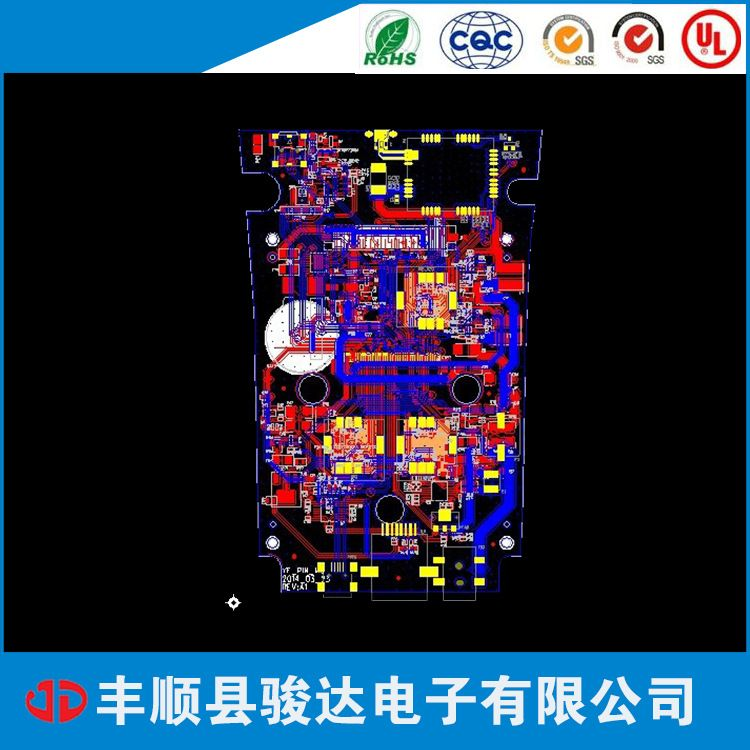 供应 黑油PCB线路板 丰顺质优黑油PCB电路板打样 欢迎询价