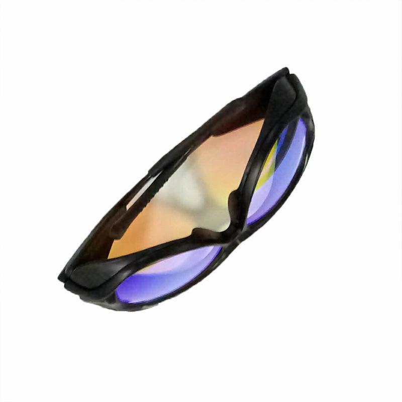 眼镜 激光防护镜 护目镜 激光眼镜 波长532nm 黑色镜架 工厂直销
