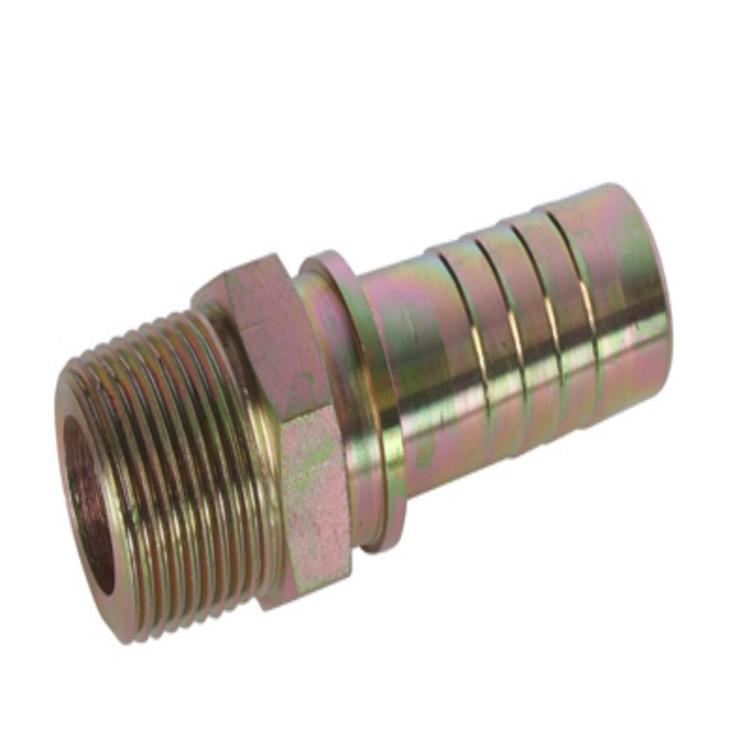 厂家供应全扣压式不锈钢胶管接头 h型胶管接头 品质保障