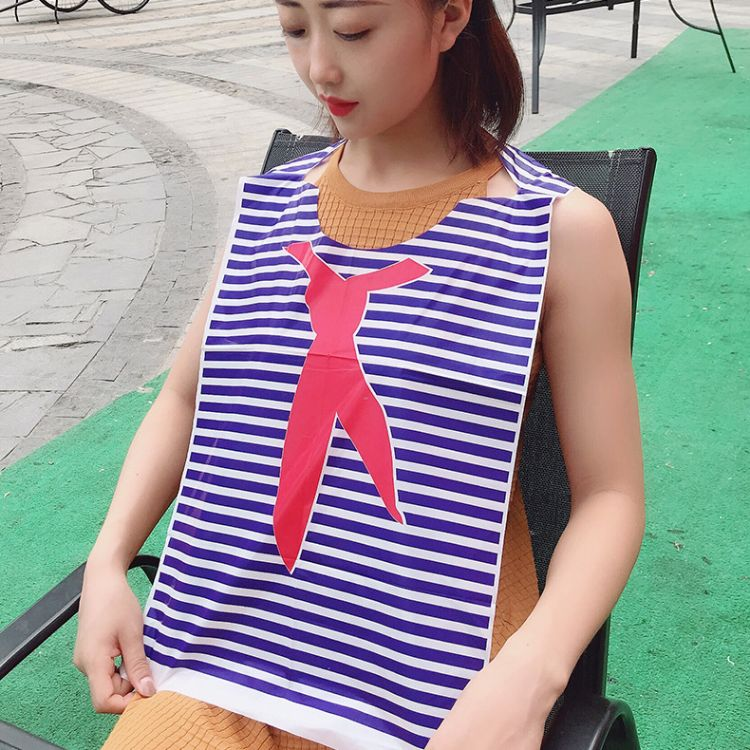 一次性塑料围裙定制龙虾火锅烧烤餐厅用餐围裙定做厂家现货热销