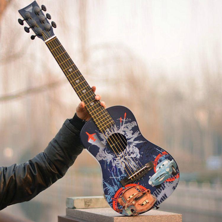 出口外贸迪家吉它 六弦琴 28寸可弹奏 早教益智古典乐器 玩具吉他