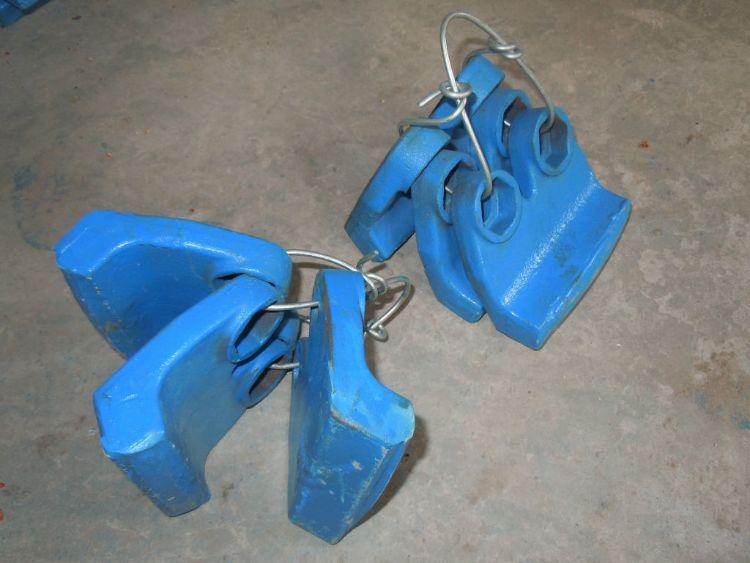 厂家热销制砂机抛料头LY-9532机型耐磨块,抛料头,高耐磨件