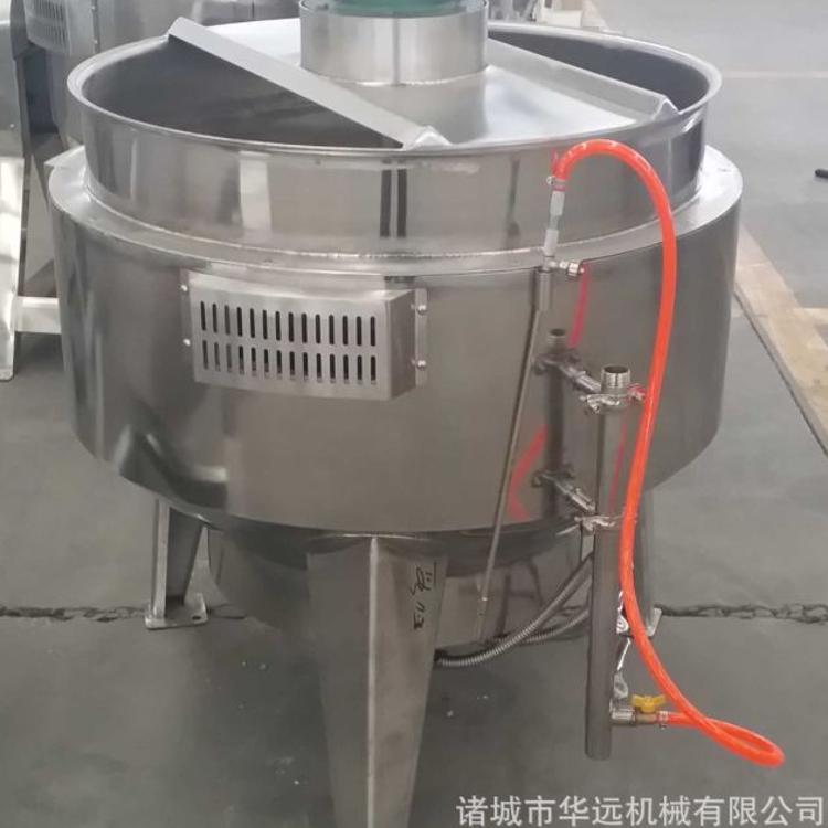 100L燃气炒锅 牛肉汤煮锅 不锈钢大锅 蒸煮锅