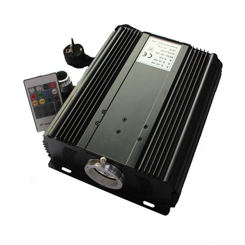 厂家直销45W光纤照明led光纤机光源器带遥控器LED光纤灯机器