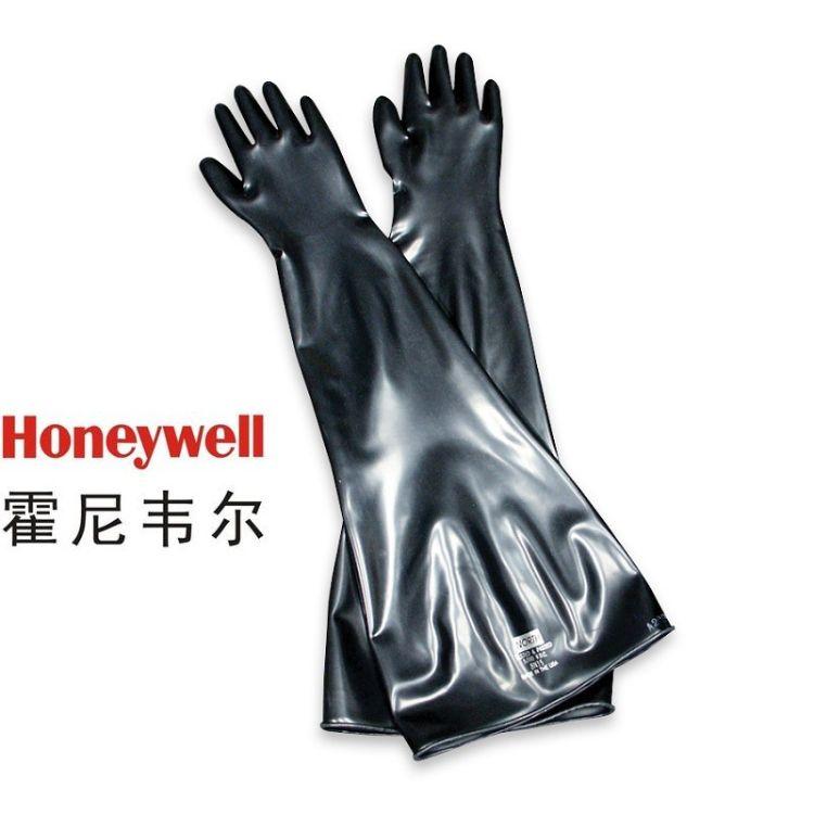 霍尼韦尔HONEYWELL 丁基合成橡胶干箱手套 现货供应 价格从优