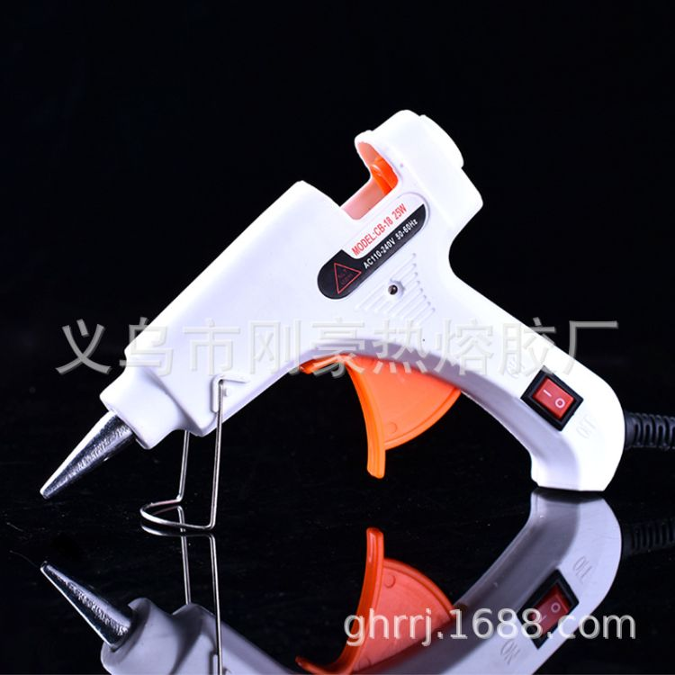 厂家直销胶枪批发带开关25W热胶枪热熔胶枪E枪美规欧规英规胶枪