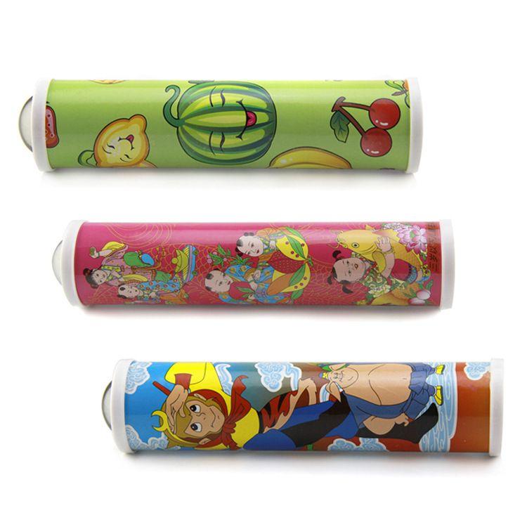 供应儿童神奇水晶头 万花筒大号塑料外景彩头 儿童益智玩具批发