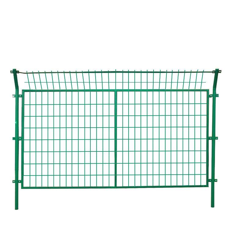 厂家直销养殖圈地双边丝护栏铁丝围栏网公路护栏网铁丝防护网