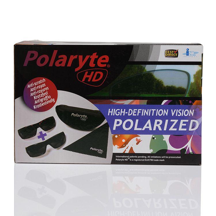 Polaryte HD户外驾驶开车运动磁性防眩光太阳护目眼镜