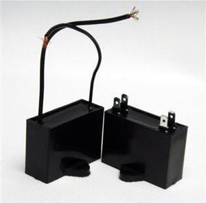 供应方形cbb61风扇电容器 发电机电容 启动运转电容器 双线电容器