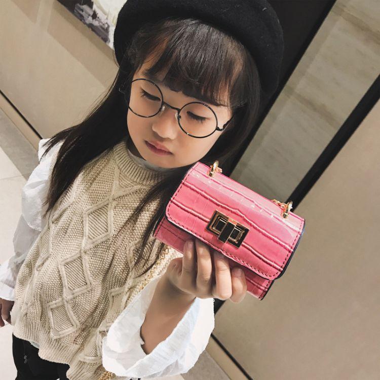 2018新款韩版儿童可爱包包女童小单肩斜挎包时尚公主零钱包批发