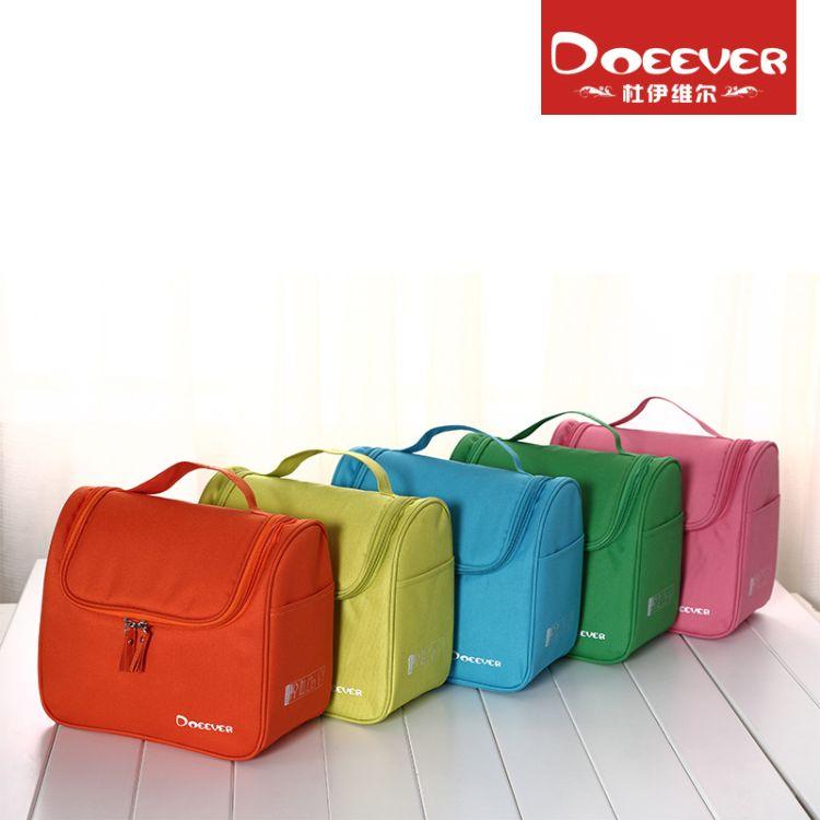 现货新款小米多色洗漱包韩版大容量防水化妆包旅行便携可挂式浴包