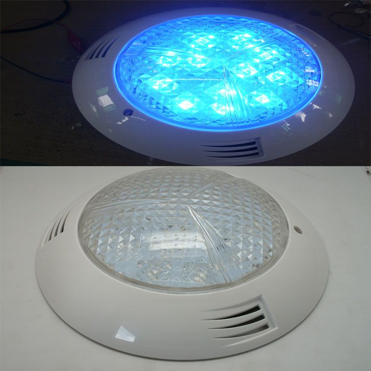 LED水底灯 LED泳池灯12W 15W 18W  36W 45W 54W挂壁式七彩水底灯