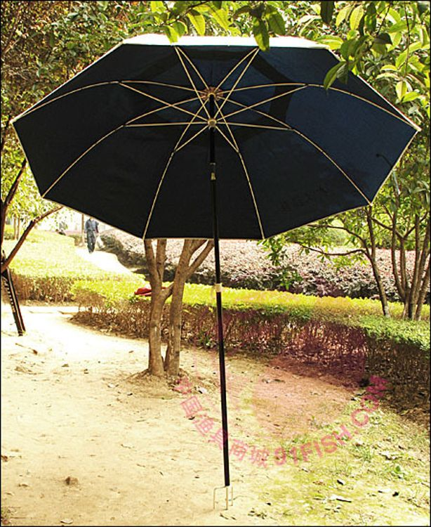 福联塑钢伞长节伞 户外钓鱼伞遮阳伞 钓鱼伞1.8米 渔具伞