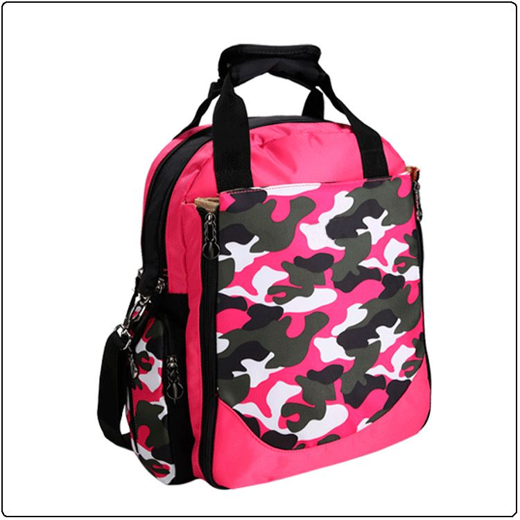 工厂定制迷彩双肩包 大容量双肩包时尚母婴用品收纳袋待产包