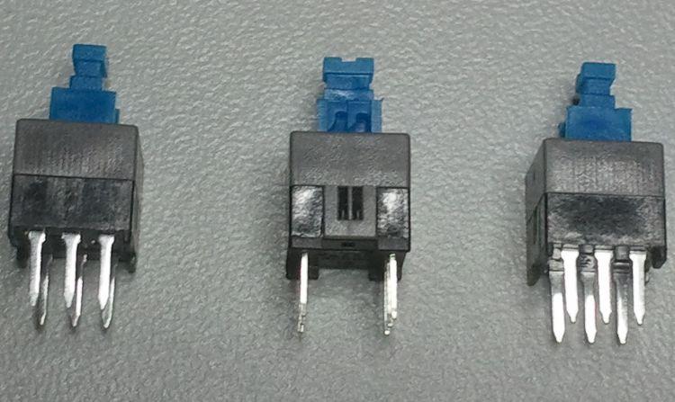 自锁开关7*7 5.8*5.8  8*8 8.5*8.5 系列按键开关 微型按钮